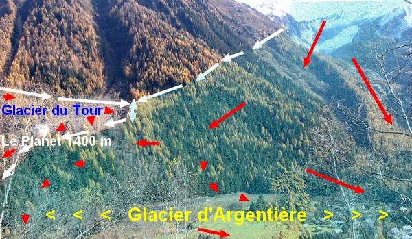 Géomorphologie glaciaire de Chamonix 06