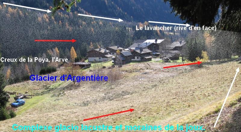 Géomorphologie glaciaire de Chamonix 11