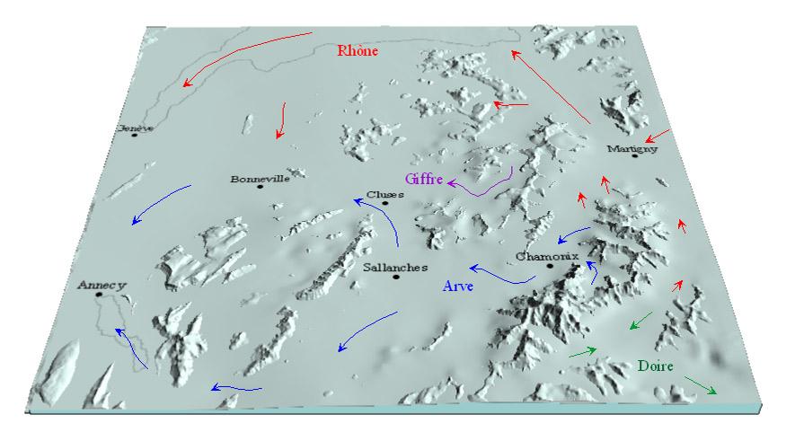Les dernières glaciations et  âges glaciaires. Wurm2