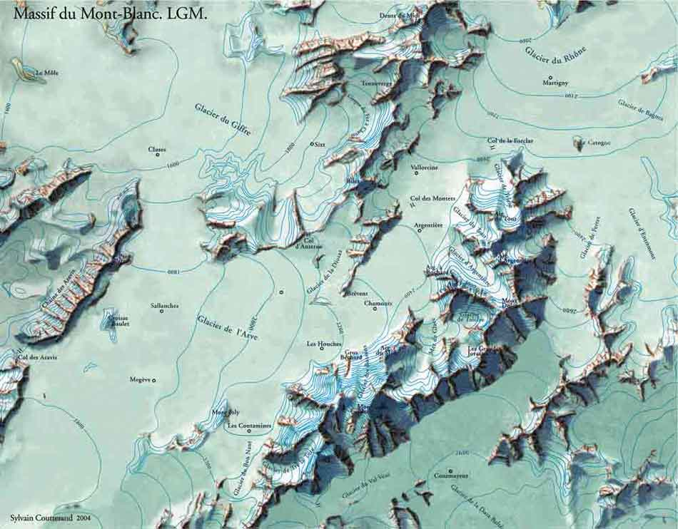 Bonneville And Son >> Periodes glaciaires. Eres glaciaires. Glaciations. Würm