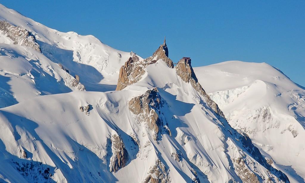 La Vall�e Blanche � skis
