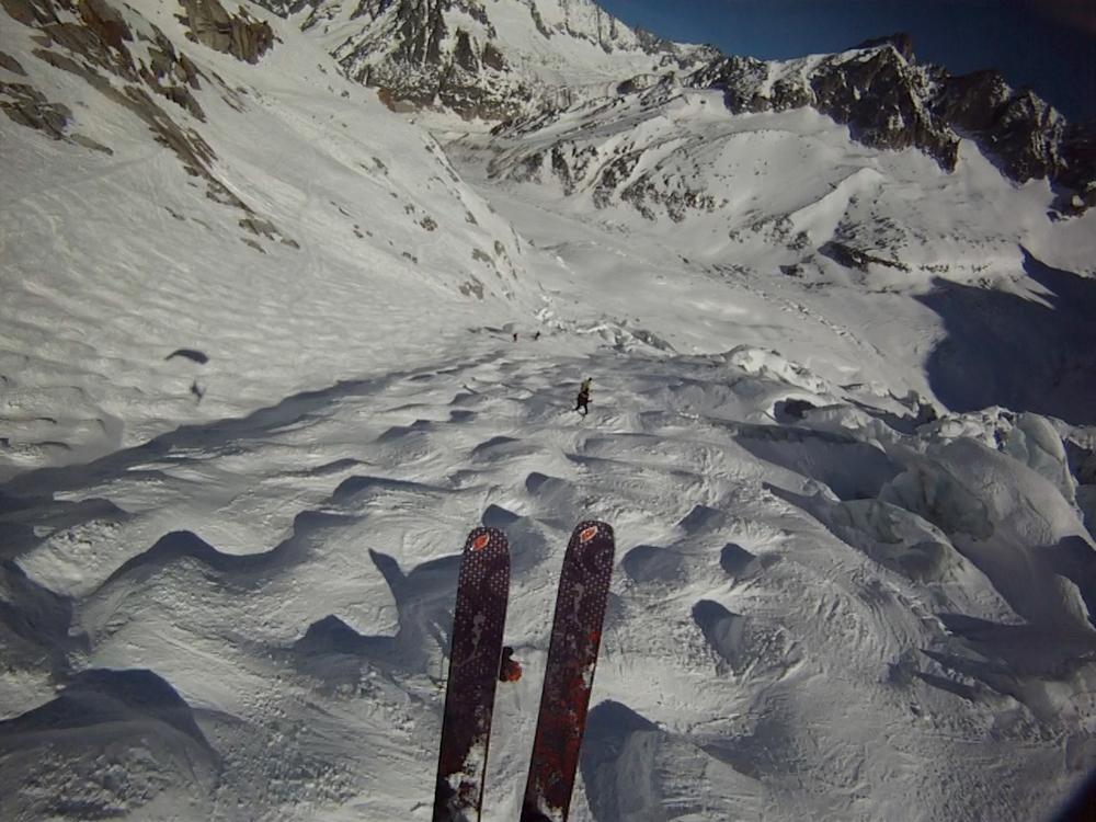 la vall e blanche skis