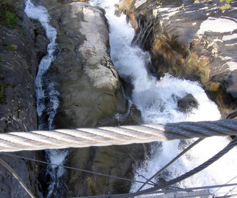 Photos de torrents, cascades etc... dans le massif. Bionnassay
